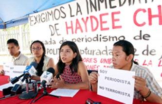 comunicadores sociales repudian la violación a la libre expresión y el derecho al trabajo de los periodistas